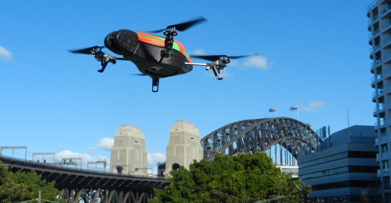 Parrot-Drone-Harbour-Bridge